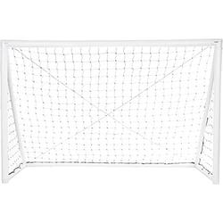 iGOAL Aufblasbares Fußballtor 240 x 150 cm weiß 240 x 150 cm - Weiß