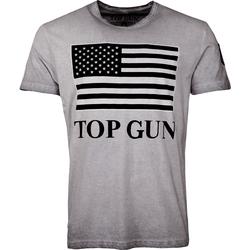 Top Gun Search, T-Shirt - Grau - M