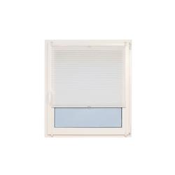 Teba Klemm-Plissee in weiß, 80 x 220 cm