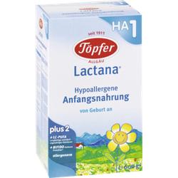 TÖPFER Lactana HA 1 Pulver 600 g