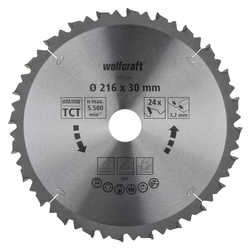 HM-Sägeblatt 216 x 30 x 3,2 mm