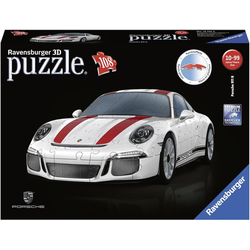 Ravensburger 3D-Puzzle Porsche 911 R, 108 Puzzleteile, Made in Europe