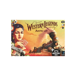 Board Game Box Spiel, Brettspiel Western Legends Ante Up