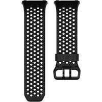 Fitbit Ionic Sport Black Gray Small Ersatzarmband Kleidergröße=S Dunkelgrau, Schwarz