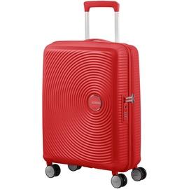 American Tourister Soundbox 4-Rollen Cabin 55 cm / 35,5-41 l coral red