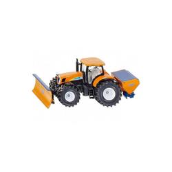 Siku Spielzeug-Auto SIKU 2940 Traktor New Holland mit Räumschild 1:50