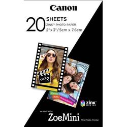 Canon ZINK™ Photo Paper ZP-2030 3214C002 Fotodrucker Fotopapier 20 Blatt