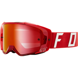 FOX Vue Psycosis Spark Tear-Off Motocross Brillen Set, rot