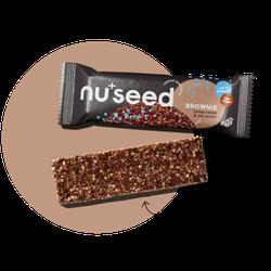 nuseed - Brownie - Riegel 40g