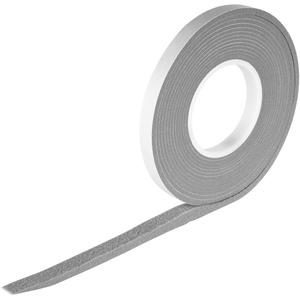 Kompriband 5,6 m lang | 15/6 Grau | expandiert von 6 auf 30 mm - Fugenbreite 6-30 mm | Rollenbreite 15 mm | Acryl 300 | Fugendichband Quellband Komprimierband Klebeband Dichtungsband