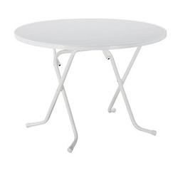 BEST Gartentisch Primo weiß rund