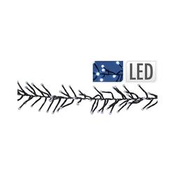 Koopmann Lichterkette LED Cluster-Lichterkette mit 8 Funktionen, 768