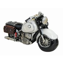 G. Wurm Spardose Comic Motorrad Old Style Biker 20 cm