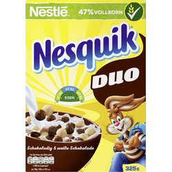NESTLE NESQUIK DUO Cerealien 325g