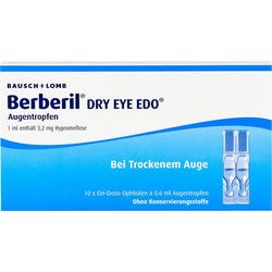 BERBERIL Dry Eye EDO Augentropfen 6 ml