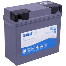 Exide Bike Gel G19 19Ah Motorradbatterie 12V (DIN 51913)