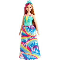 Barbie Dreamtopia Blonde Puppe mit Pink Lock