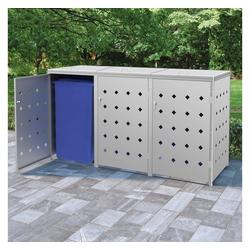 vidaXL Mülltonnenbox 720 l