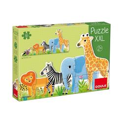 Goula Puzzle XXL-Puzzle 16 Teile - Dschungel, Puzzleteile