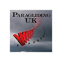 Paragliding UK (Wall Calendar 2021 300 × 300 mm Square)