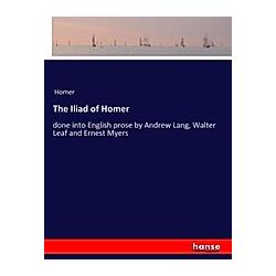 The Iliad of Homer. Homer  - Buch