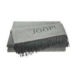 JOOP! Wohnplaid  Joop!Fine Doubleface ¦ grau ¦ 80% Wolle, 20% Kaschmir