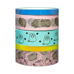 UNDERCOVER Sticker Washi-Tapes, Klebeband Pusheen, 5x5 m