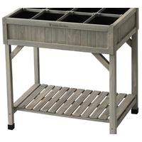 NOOR Kräuterhochbeet 78 x 58 x 80 cm grau