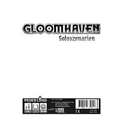 Gloomhaven Solo-Szenarien (Spiel-Zubehör)