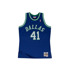 Mitchell & Ness Basketballtrikot Swingman Jersey Dallas Mavericks 199899 Dirk Nowitzki L