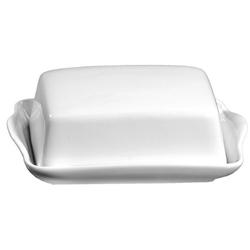 Ritzenhoff und Breker Butterdose Bianco aus Porzellan in weiß