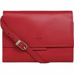 Voi Kimmie Clutch Tasche RFID Leder 17 cm rot