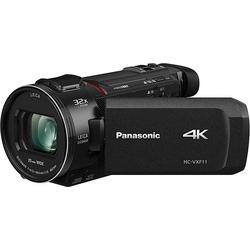 Lumix Panasonic HC-VXF11EG-K Camcorder (4K Ultra HD, WLAN (Wi-Fi), 24x opt. Zoom)
