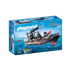 Playmobil® Spielzeug-Boot PLAYMOBIL® 9362 - SEK-Schlauchboot