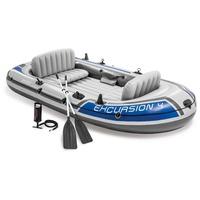 Intex Schlauchboot Set Excursion 4 Personen Reisen/Erholung