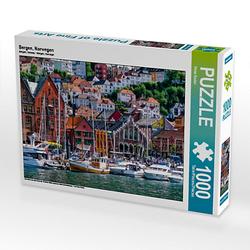 Bergen, Norwegen Lege-Größe 64 x 48 cm Foto-Puzzle Bild von Peter Roder Puzzle