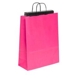 50 Tragetaschen Toptwist pink