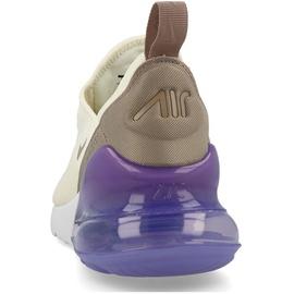 Nike Wmns Air Max 270 cream brown white lilac, 38.5 ab 129