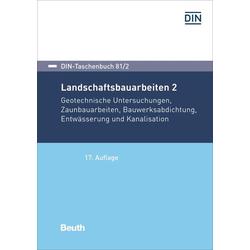 Landschaftsbauarbeiten 2: Buch von