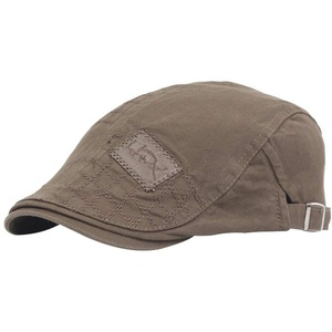 Demarkt Herren Schirmmützen Baumwolle Schiebermütze Gatsby Mütze Ivy Newsboy Flache Cap Modehut Size (56-58cm) (Stil-1)