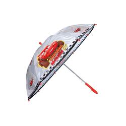 Disney Cars Stockregenschirm Kinder Regenschirm, Lightning McQueen, ∅ 72 cm, transparent