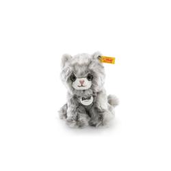 Steiff Kuscheltier Katze Minka 17 cm grau-getigert 084010 (Stofftiere Katzen Plüschtiere, Stofftiere Katzen Plüschtiere)