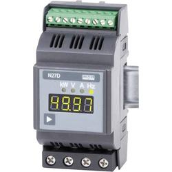 Lumel N27D 00E0 1-Phasen DIN-Schienen-Multimeter 2.3 - 276 V/AC 0.6 - 75 A/AC 2 - 500Hz ±31.5kW