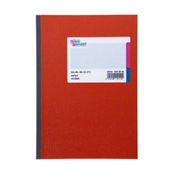 König & Ebhardt Kladde 8615271 Notizbuch kariert Rot Anzahl der Blätter: 48 DIN A5