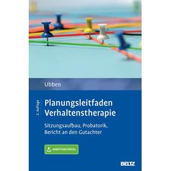 Planungsleitfaden Verhaltenstherapie: eBook von Bernd Ubben
