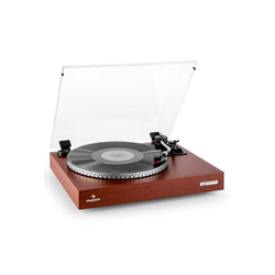 Auna TT-931 Plattenspieler Holz-Finish Plattenspieler