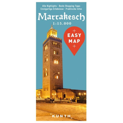 EASY MAP Marrakesch 1:15.000