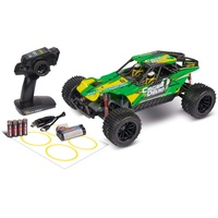 CARSON Cage Devil FE 2.0 Elektro Brushed Truggy, 2WD 1:10 100%-RTR RtR Ready-to-Run), RC Auto,