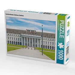 Kurfürstliches Schloss Koblenz Lege-Größe 64 x 48 cm Foto-Puzzle Bild von Fabian Junge Puzzle  Kinder