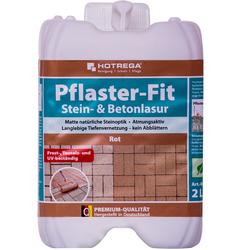 HOTREGA Pflaster-Fit 2 Liter rot (Stein- & Betonlasur)